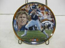 "John Elway King Of The Mountain Collectible Plate LE 1998 ""Super Bowl Champion"""