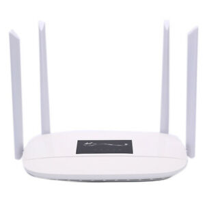Unlocked 4G LTE CPE Wifi Router 300Mbps with 4 Antennas  SIM Card*DE