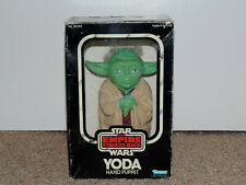 1980 Kenner Star Wars ESB Yoda Hand Puppet with Box Empire Strikes Back