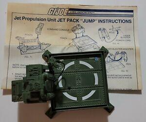 """Vintage 1983 GI JoeJet Propulsion Unit Jet Pack """"Jump"""" platform"""