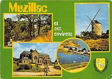 B52554 Muzillac le moulin a vent de Sereac wind mill multi vues   france