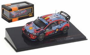 IXO RAM743 Hyundai i20 WRC Winner Monte Carlo 2020 - Thierry Neuville 1/43 Scale
