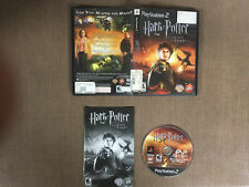 Sony PlayStation 2 PS2 Complete CIB Harry Potter Goblet of Fire Black Label