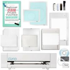 Silhouette Curio Digital Crafting Machine with Large Base and Deep Cut Blade Bun