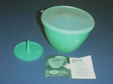 New listing Tupperware Lettuce Crisp-It #679 & Spike #684 & Dome Seal #680 with Instructions