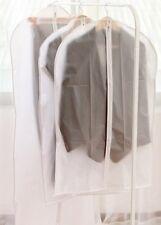 PEVA Dust Cover Storage Bag Closet Hanging Suit Garment Organizer Medium