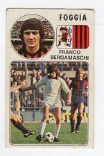 figurina - CALCIATORI PANINI 1976/77 NEW - NUMERO 76 FOGGIA BERGAMASCHI