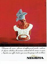 Publicité Advertising 037  1966  le baba au Rhum Negrita Bardinet