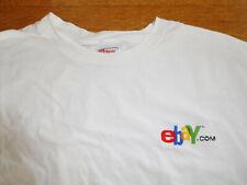 Vintage eBay.com embroidered eBay Logo T Shirt L Large