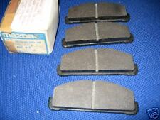NEW FRONT BRAKE PADS - FITS: MAZDA 1300 & 1400 & 323 (1977-80)