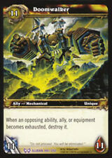WOW Warcraft TCG ARCHIVES FOIL : DOOMWALKER X 4