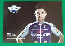 CYCLISME carte cycliste JACK BAUER équipe QUICK STEP FLOORS 2018
