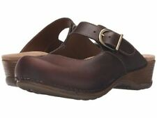 Dansko Leather Medium (B, M) 6 Flats & Oxfords for Women