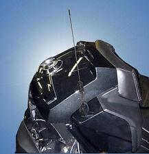 Black Shortee Antenna  for Can Am Spyder RT by Custom Dynamics (#SPY-SHORTEE-B)