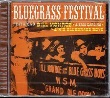 Bill Monroe & His Bluegrass Boys - Bluegrass Festival Audio CD Sealed