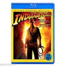Indiana Jones & The Kingdom of The Crystal Skull - Harrison Ford (NEW) Blu Ray