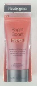 Neutrogena Bright Boost Resurfacing Micro Polish 2.6 oz Accelerated Brightening