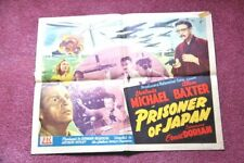 """ PRISONER OF JAPAN "" 1942 ORIGINAL MOVIE POSTER"