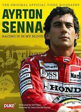 AYRTON SENNA DVD. RACING IS IN MY BLOOD. 57 Mins. F1 GP Motor Sport. DUKE 3540