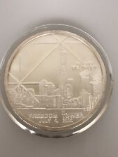 Mariana Islands One Dollar Coin 9/11 Recovery Silver Freedom Tower 100 Mil Clad