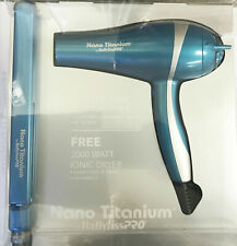 "BaByliss  Titanium 2000 Watt Dryer is free ,with  the1"" Ultra Thin Straightener"