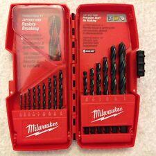 New Milwaukee 48-89-2803 Thunderbolt 15 Piece Black Oxide Drill Bit Set