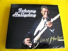 DVD Digipack + 2CD Johnny Hallyday - Live at Montreux 1988 Tirage Limité Neuf