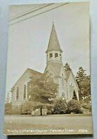 Trinity Lutheran Church Parkland, Washington Real Photo Postcard RPPC 5643