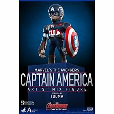 Avengers Age of Ultron Series 1 Captain America Artist Mix Hot Toys NEW