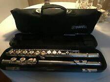 1~Used~Yamaha Student Flute~With Hard Case and Carry Bag~Works