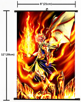 "Hot Japan Anime Fire Emblem kamui Poster Wall Scroll Home Decor 8/""x12/"" F340"