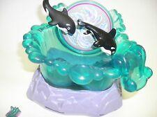 Vintage Kenner Littlest Pet Shop Sea World SHAMU FAMILY Orca Play set 1995