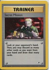 Pokemon Gym Heroes Uncommon Card #118/132 Secret Mission