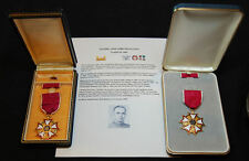 WWII-Vietnam Colonel's Double Named Legion of Merit Medal Group - USMA 1945