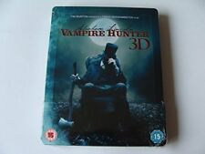 ABRAHAM LINCOLN VAMPIRE HUNTER BD3D STEELBOOK EXCL [Bluray] [DVD]