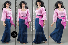 """【1:6 Scale clothes】1:6th Dress Set For 12"""" PH UD HT Female Figure Body Doll Toy"""
