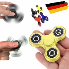 Fidget Spinner - Anti Stress Doigts Main EDC ADHS Concentration Jouet - Jaune