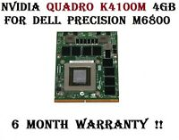 Nvidia Quadro K4100M 4GB Graphics Video Card For Dell Precision M6800 Laptops