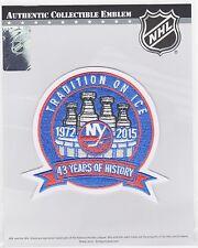 NEW YORK ISLANDERS 43RD ANNIVERSARY PATCH 2014/2015 ISLANDERS JERSEY PATCH