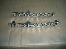 Set 1968-1971 Ford Torino Rear Quarter Panel Emblems