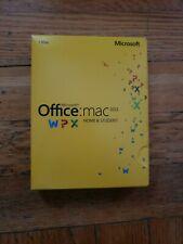 Microsoft Office Mac Home & Student 2011 Key Card - GZA00267