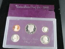 1985 S United States Mint Proof Coin Set w/Box , no papers
