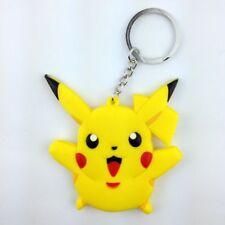 Pokemon Pokedoll Pikachu Electric Mouse Rubber Key Chain Ring Holder Keychain