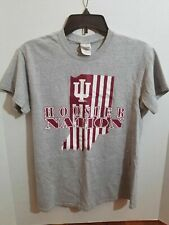 Indiana Hoosier Nation Youth Small T Shirt Short Sleeve College Basket Ball