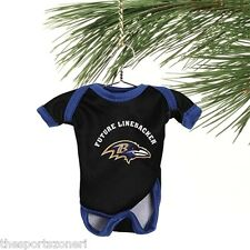 Baltimore Ravens Baby Shirt Ornament