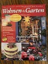Wohnen Und Garten Magazin Ausgabe Dezember 2020 Weihnachten Deko Ideen Usw