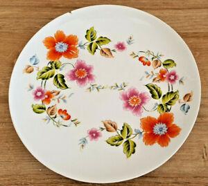 Antik Teller Deko Porzellan Aus Limoges Frankreich Dekoration Blumen Mehrfarbig