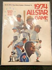1974 MLB All-Star program ~ Mantle / Clemente / Williams / Aaron on cover