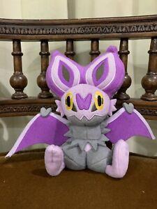 Rare Noibat Pokémon TOMY plush zubat golbat noivern banpresto