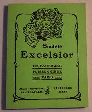 Catalogue EXCELSIOR Préservatifs Dames Hommes Ceintures de Chasteté Douchettes